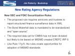 new rating agency regulations jim flaherty backshop