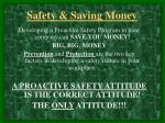 safety saving money13