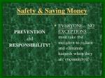 safety saving money3