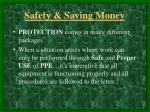 safety saving money4