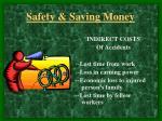safety saving money7