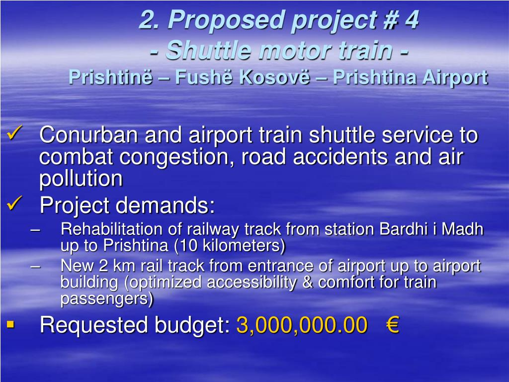 2. Proposed project # 4