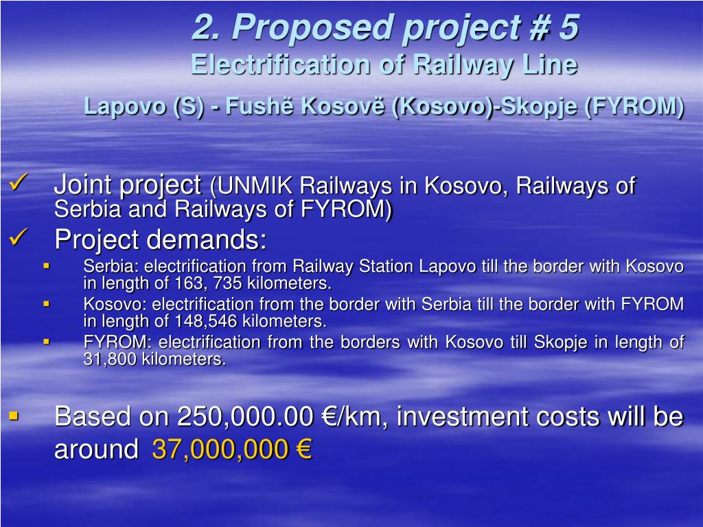 2. Proposed project # 5
