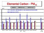 elemental carbon pm 10