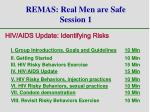 remas real men are safe session 1