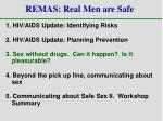 remas real men are safe