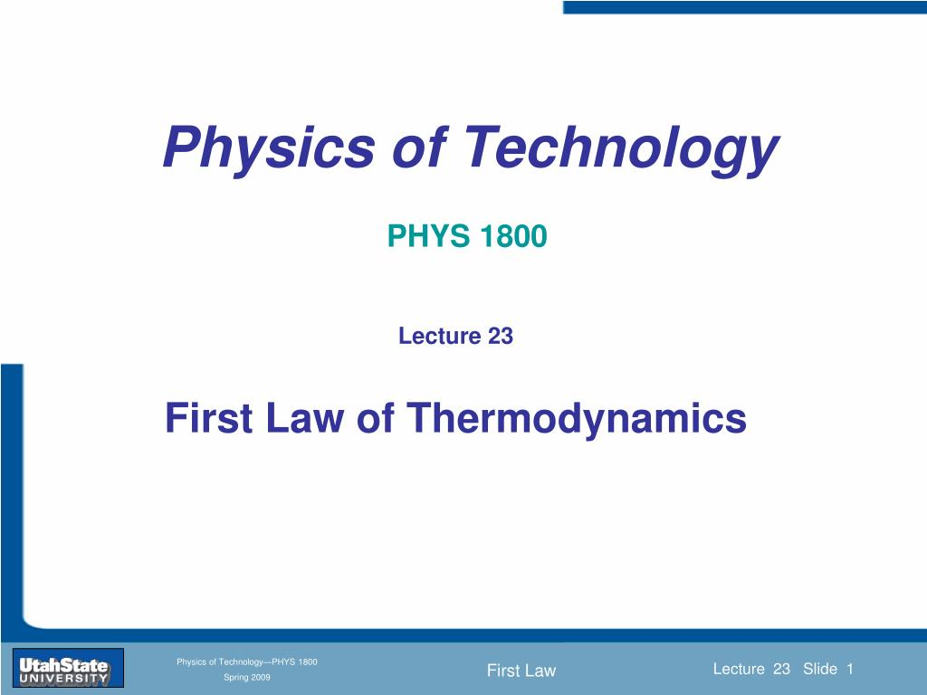 physics of technology phys 1800 l.
