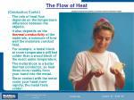 the flow of heat36