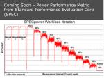 coming soon power performance metric from standard performance evaluation corp spec