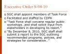 executive order s 04 103