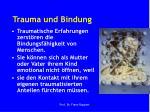 trauma und bindung