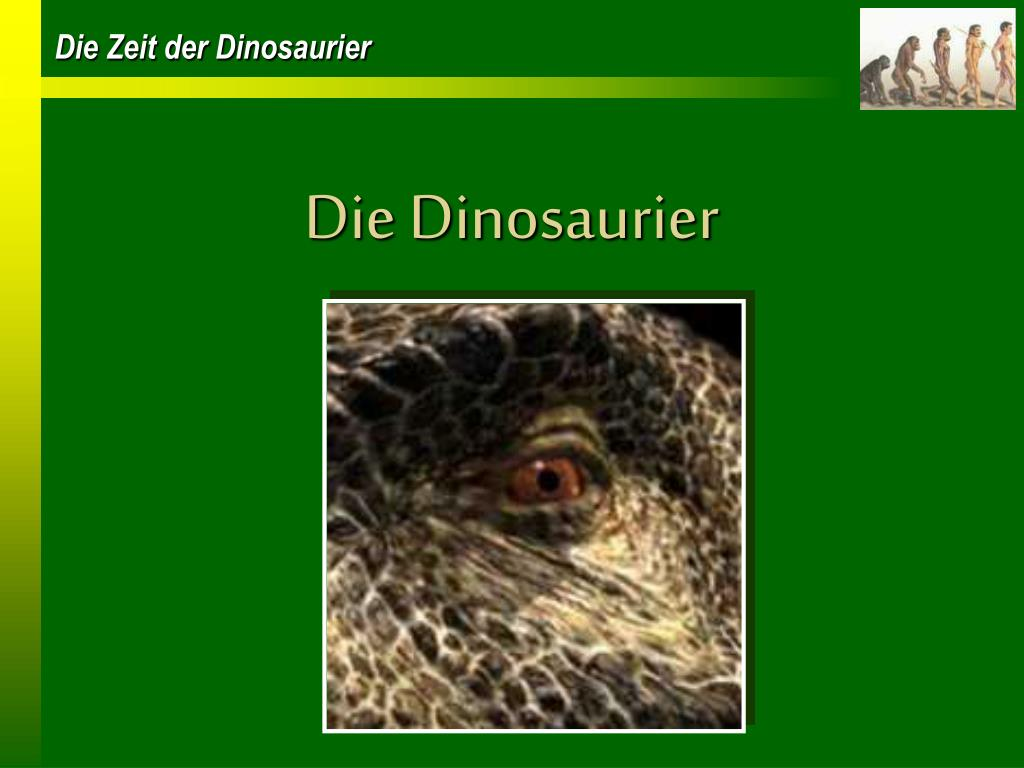 die dinosaurier l.