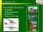 die gr ssten dinosaurier