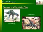 dinosaurer w hrend der trias