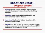 kdoqi ckd 2002 original intent
