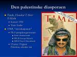 den palestinske diasporaen18