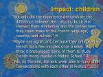 impact children