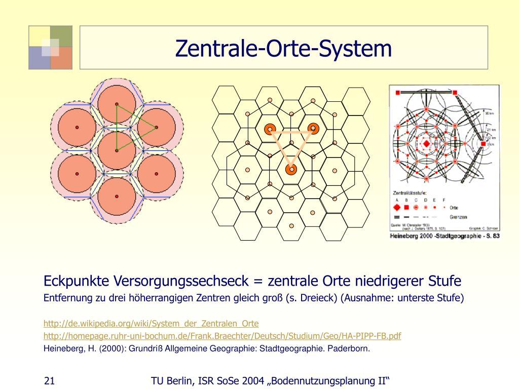 Zentrale-Orte-System