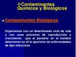contaminantes qu micos y biol gicos33