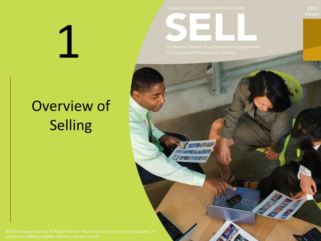 overview of selling l.