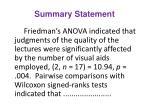 summary statement11