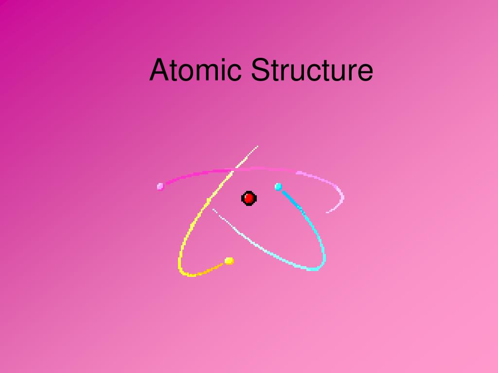 atomic structure l.