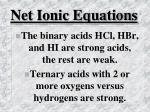 net ionic equations43