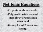net ionic equations44