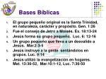 bases b blicas