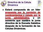 directiva de la c lula din mica