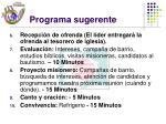 programa sugerente17