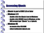 accessing qbasic