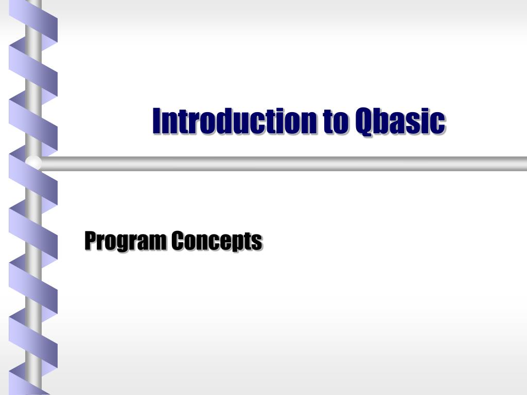 introduction to qbasic l.