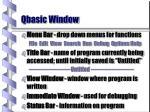 qbasic window