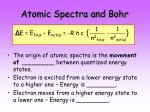 atomic spectra and bohr26