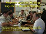 response agencies training together to respond together25