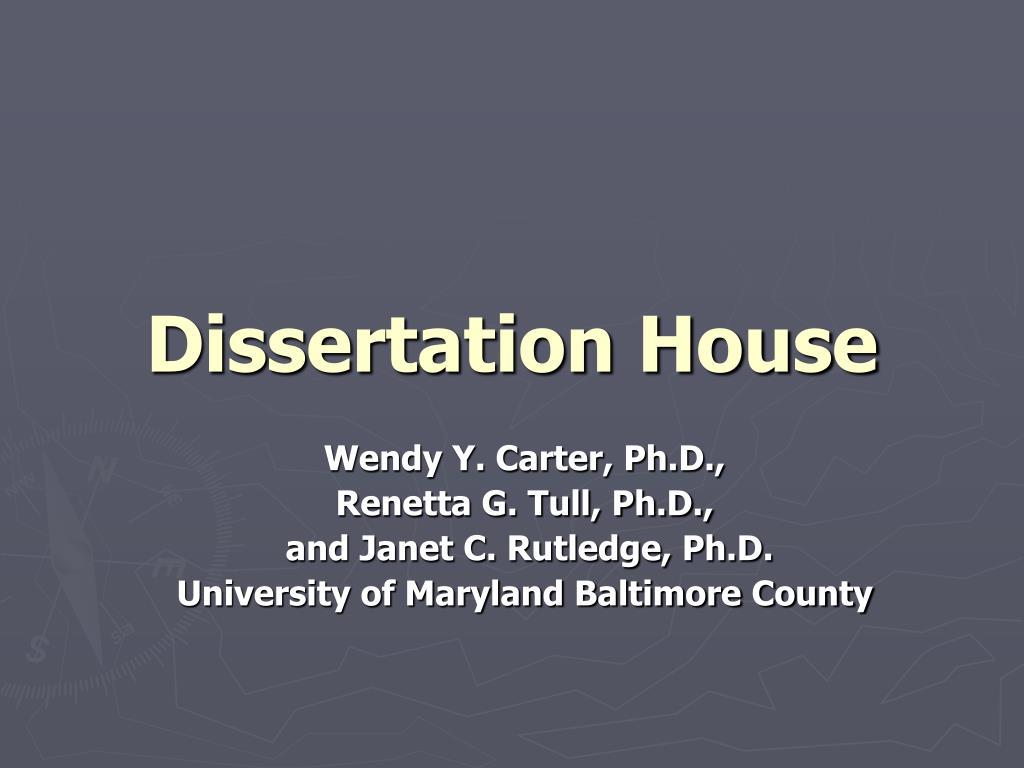 dissertation house l.