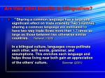 are their other benefits to bilingualism