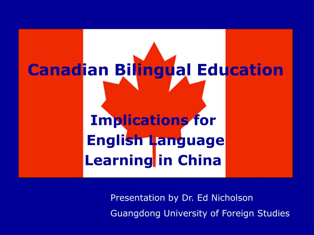 canadian bilingual education l.