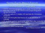 some facts about french immersion in canada