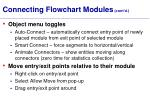 connecting flowchart modules cont d
