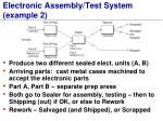 electronic assembly test system example 2