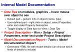 internal model documentation