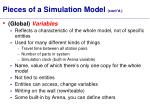pieces of a simulation model cont d4