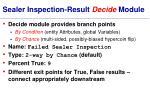 sealer inspection result decide module