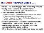 the create flowchart module cont d