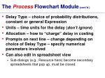 the process flowchart module cont d29