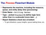 the process flowchart module