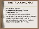 the truck project