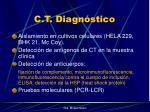 c t diagn stico